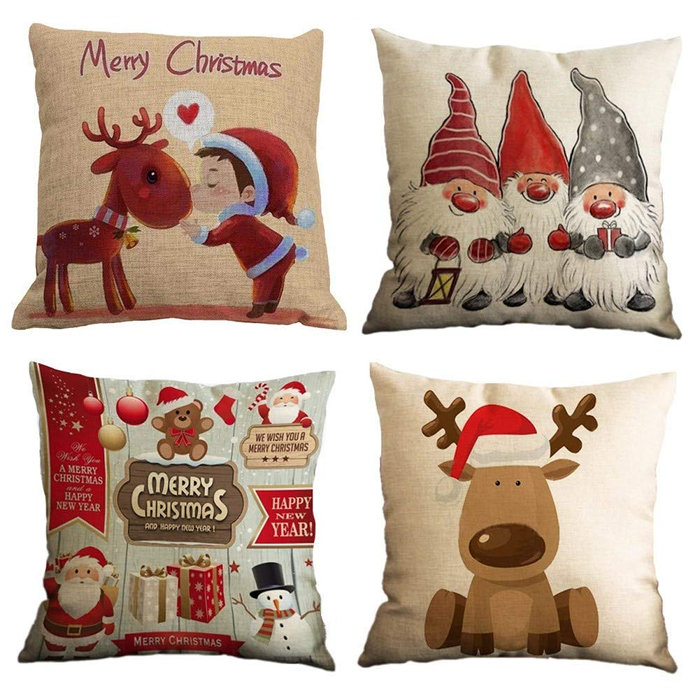 świąteczne poduszki