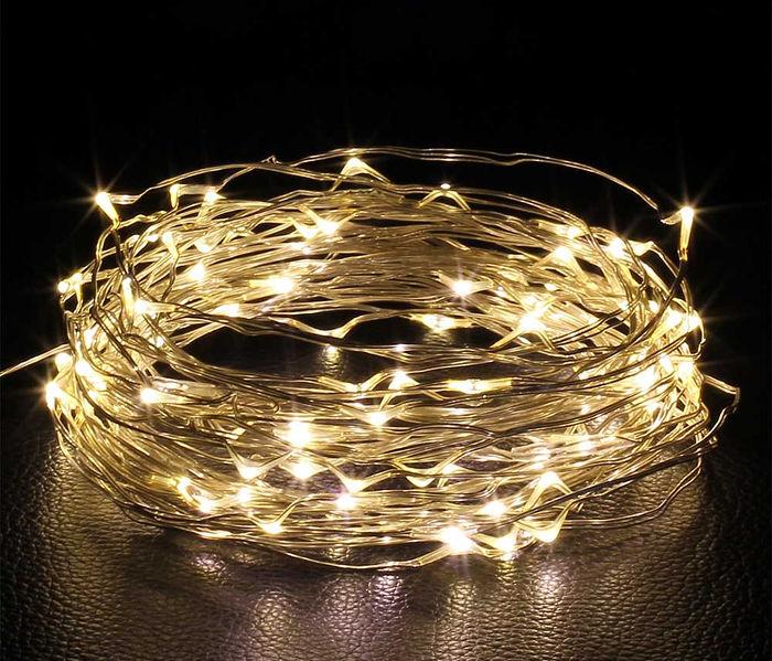 10-metrowy łańcuch świetlny z diodami LED