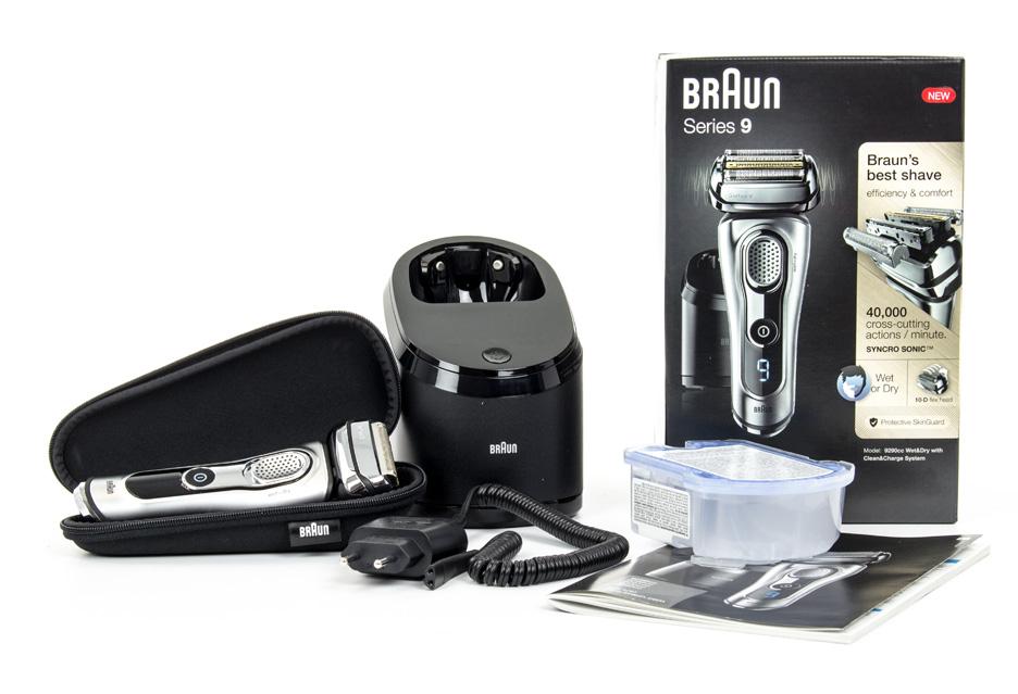 Braun Series 9 9290cc - zawartość opakowania