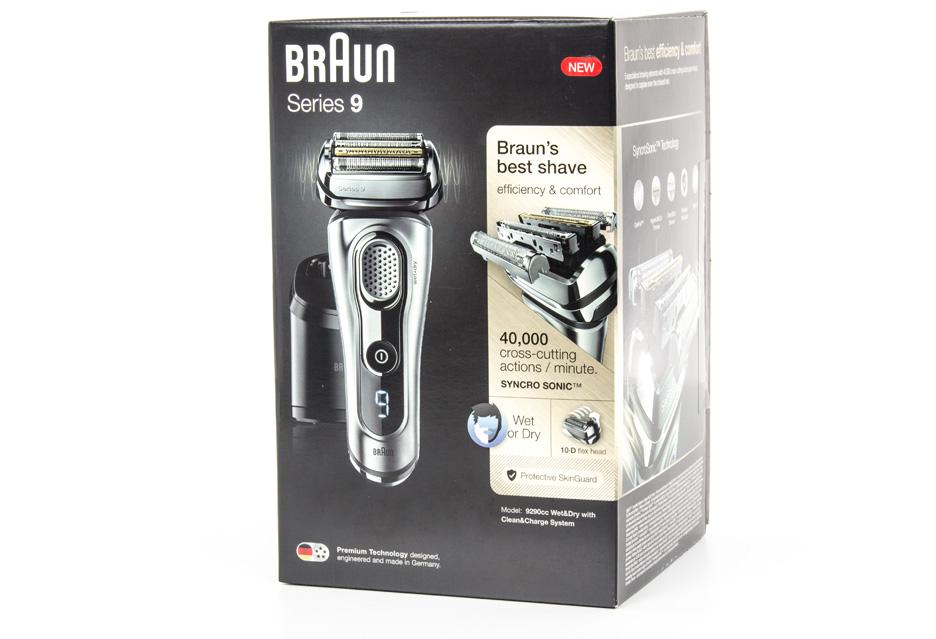Braun Series 9 9290cc - pudełko