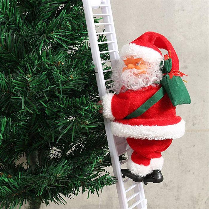 Elektryczna drabina dla Świętego Mikołaja