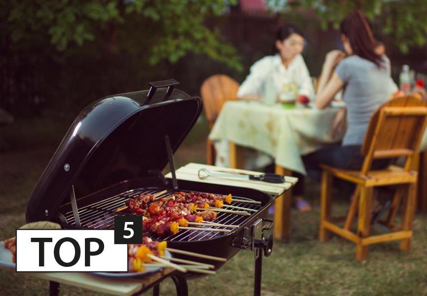 Top 5 sprzętów do grillowania