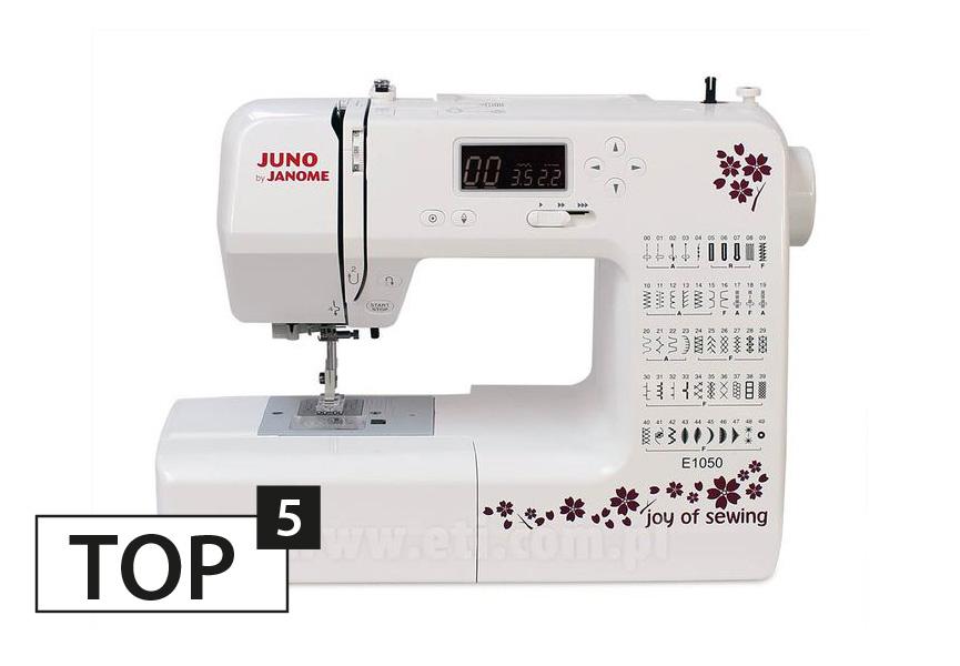 Maszyna do szycia JANOME JUNO E1050
