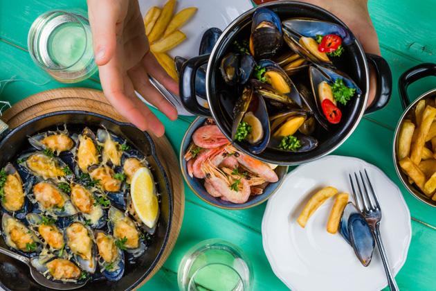 afrodyzjaki w kuchni - owoce morza