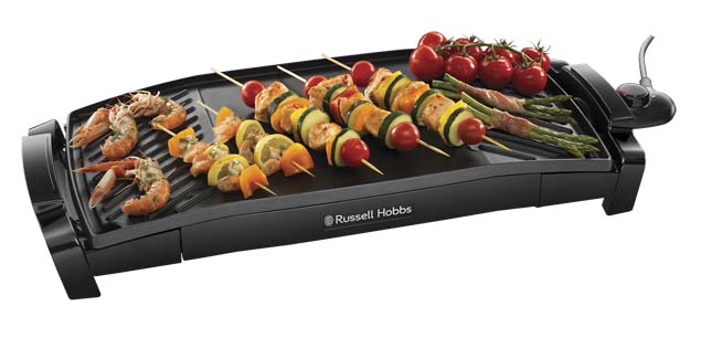 Grill RUSSELL HOBBS CURVED GRILL&GRIDDLE MAXICOOK 22940-56