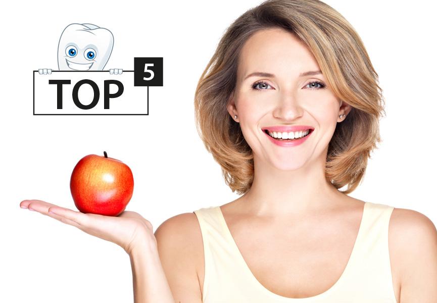 Top 5 szczoteczek sonicznych do zębów
