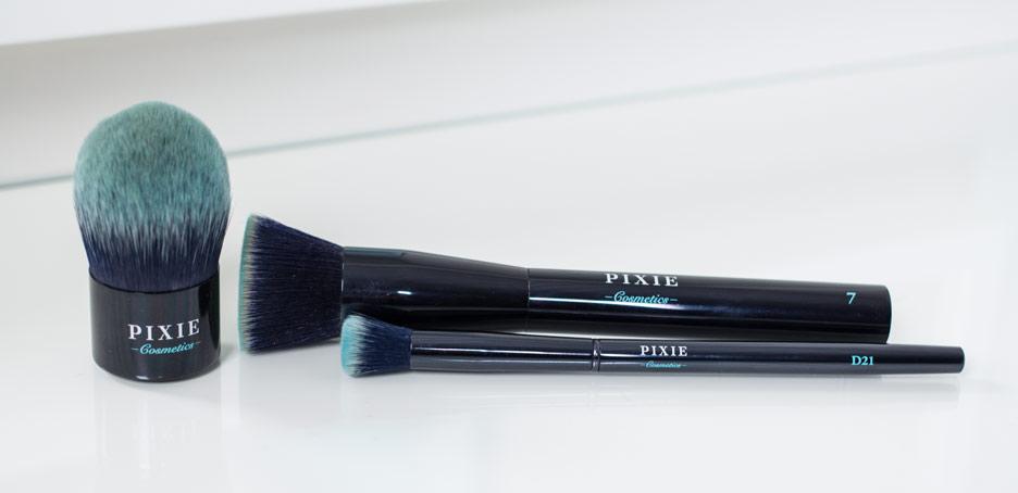 Pixie Cosmetics - pędzle