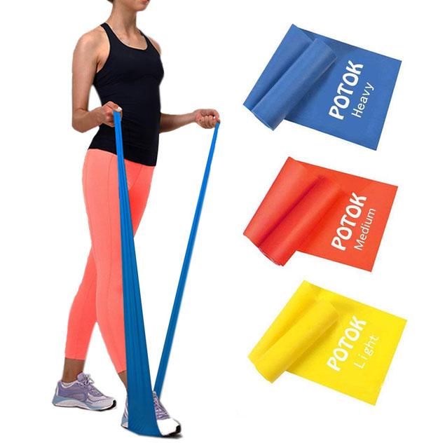 Potok 3-częściowy zestaw taśm do fitnessu