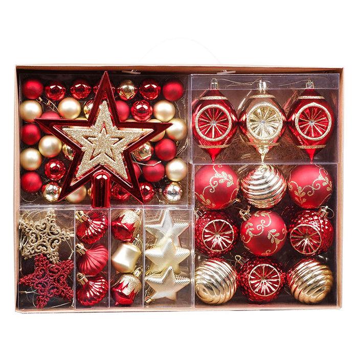 Waleri Madelyn – luksusowy zestaw 70 ozdób świątecznych