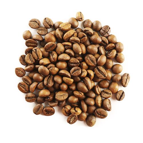 ziarna kawy lekko wypalone