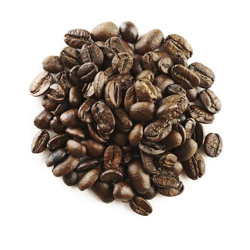 ziarna kawy mocno wypalone
